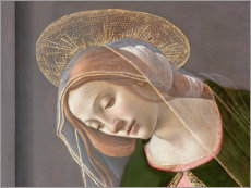 Tableau en verre acrylique  Annunciation (detail) - Sandro Botticelli