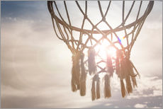 Tableau en plexi-alu  Basket ball