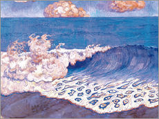 Sticker mural  Blue seascape - Georges Lacombe