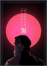 Sticker mural  Blade Runner - 2049 - Fourteenlab