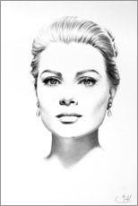 Poster  Grace Kelly - Ileana Hunter