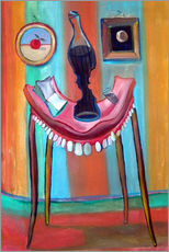 Sticker mural  Table with teeth - Diego Manuel Rodriguez