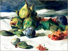 Tableau en plexi-alu  Nature morte aux fruits - Pierre-Auguste Renoir