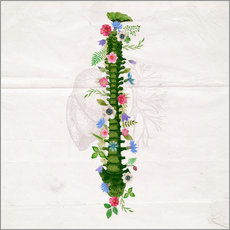 Sticker mural Floral Spine