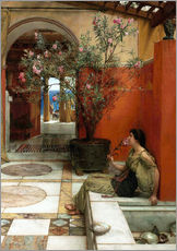 Sticker mural  Le laurier-rose - Lawrence Alma-Tadema