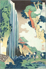Tableau en plexi-alu  Ono Waterfall on the Kisokaid?  - Katsushika Hokusai
