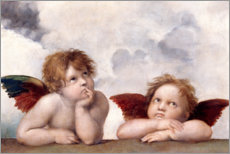 Sticker mural  Petits anges - Raffael
