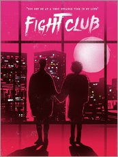Tableau en plexi-alu  Fight club (anglais) - 2ToastDesign