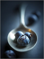 Sticker mural  Blueberry Macro Still Life - Johan Swanepoel