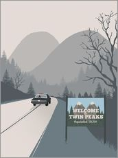 2ToastDesign - Alternative welcome to twin peaks art print