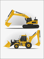 Kidz Collection - Two excavators