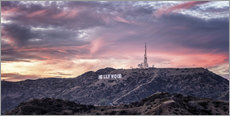 Tableau en plexi-alu  Les collines d'Hollywood - Marcus Sielaff