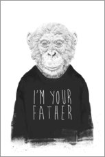 Sticker mural I'm your father