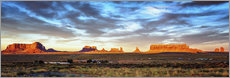 Sticker mural  Monument Valley panorama - Marcus Sielaff