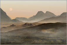 Tableau en plexi-alu  Isle of Skye morning panorama - Jaroslaw Blaminsky