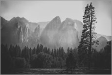 Sticker mural  In the Yosemite valley - Pascal Deckarm