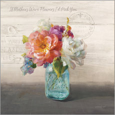 Tableau en plexi-alu  French Cottage Bouquet I - Danhui Nai