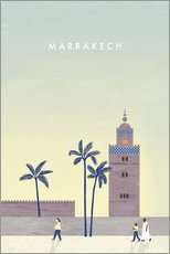Sticker mural  Illustration Marrakech - Katinka Reinke
