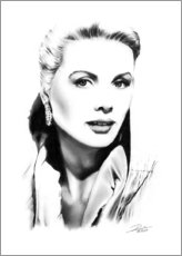 Sticker mural  Diva hollywoodienne, Grace Kelly - Dirk Richter