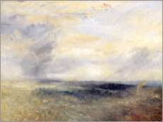 Tableau en plexi-alu  Margate depuis la mer - Joseph Mallord William Turner