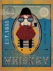 Tableau en plexi-alu  Old Salt Whiskey - Ryan Fowler