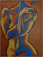 Tableau en plexi-alu  Graceful Lady - Female Nude - Carmen Tyrrell