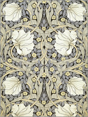 Tableau en plexi-alu  Mouron - William Morris