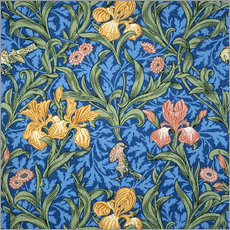 Sticker mural  Iris - William Morris