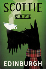 Tableau en plexi-alu  Scottie Cafe - Ryan Fowler