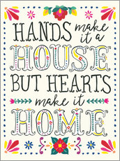 Sticker mural  House or home (anglais) - Laura Marshall