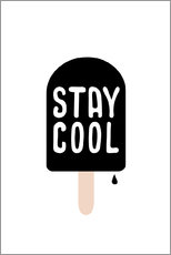 Sticker mural  Stay cool - Ohkimiko