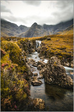 Sticker mural  Fairy Pools, Isle of Skye - Sören Bartosch