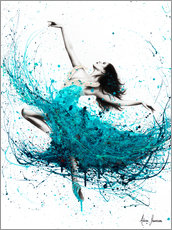 Sticker mural  Vagues de ballerine - Ashvin Harrison