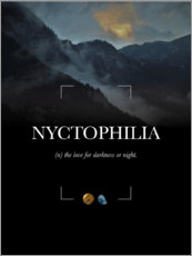 Poster Nyctophilia