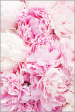 Poster  Pivoines roses - Pulse of Art
