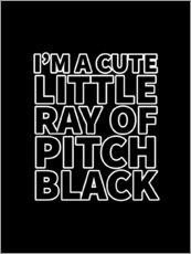 Bois  I'm a Cute Little Ray of Pitch Black - Creative Angel