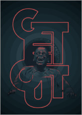Poster  Get out - Fourteenlab