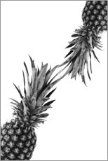 Toile  Couple d'ananas - NiMadesign