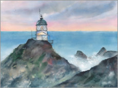 Poster Phare de Nugget Point