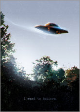 Poster  I want to believe - Nikita Abakumov