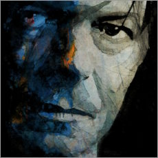 Poster  David Bowie, Caméléon - Paul Lovering Arts