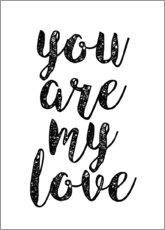 Poster You are my love