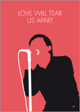 Poster Joy Division, Love will tear us apart