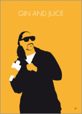 Poster Snoop Dogg, Gin and juice