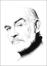Poster Portrait de Sean Connery