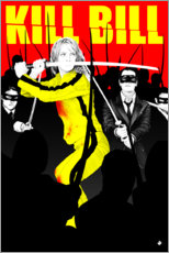 Poster  Kill Bill - Paola Morpheus
