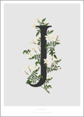 Poster J is for Jasmine