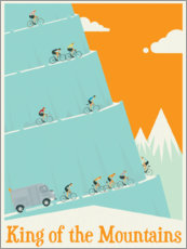 Poster  King of the mountains - Wyatt9