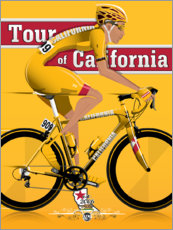 Poster Tour de Californie, course cycliste
