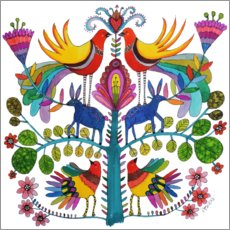 Poster  Amour et Otomi  - Sylvie Demers